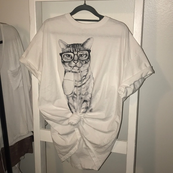 854d3f698 Urban Outfitters Tops | Cat And Mouse Shirt | Poshmark